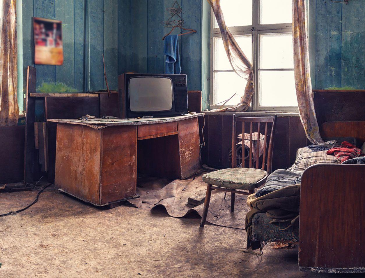 Habitación abandonada