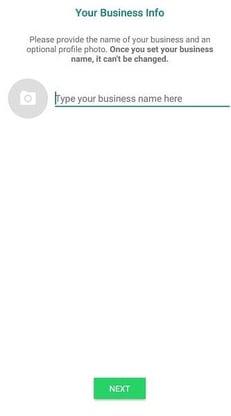 Info Whatsapp Business