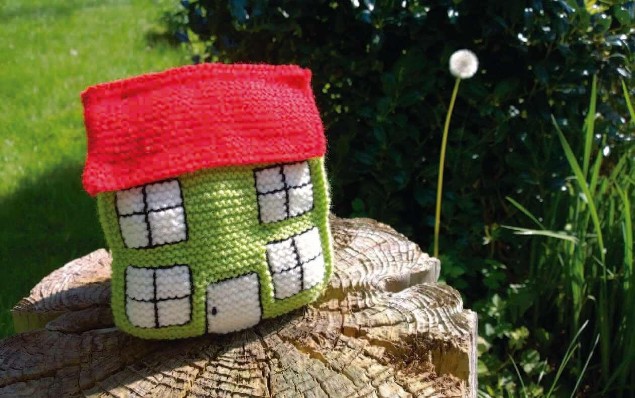 Una casa en el jardín